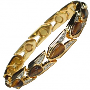 MPS® VENICE Magnetic Bracelet with Amber Stones