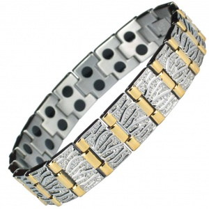 MPS® MERCURY ANTI-GOLEM Premium Men's Stainless Steel Magnetic Bracelet