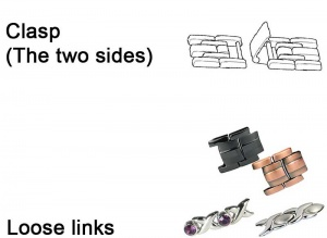 Spares for MPS Links Magnetic Bracelets & Anklets