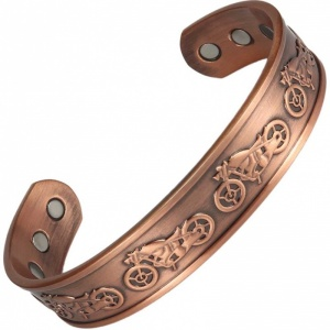 MPS KALAA HAVA Pure Copper Magnetic Therapy Bangle