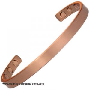 MPS ARDEN Narrow Pure Copper Classic Magnetic Therapy Bangle