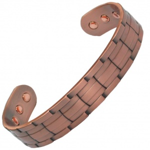 MPS NORAD Pure Copper Magnetic Bangle with Six magnets