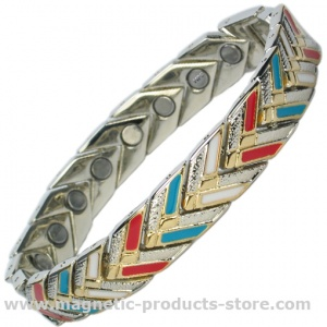 NEHUSHTAN SILVER CL Magnetic Therapy Bracelet