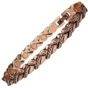 MPS® CAVVA Copper Rich Magnetic Therapy Bracelet for Women