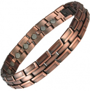 MPS® ECHNATON Copper and Zinc Magnetic Bracelet for Men