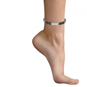MPS® ADANA Stainless Steel SG Magnetic Anklet