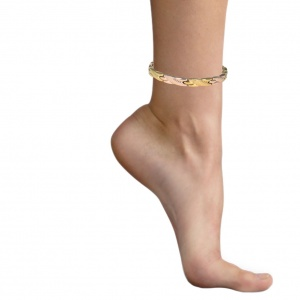 MPS® SEYAN Stainless Steel Gold Variants Magnetic Anklet