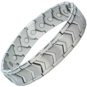 MPS™ OMEGA Stainless Steel Magnetic Therapy Bracelet