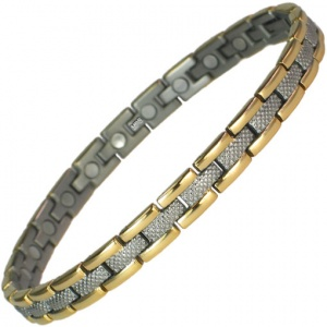 MPS™ SLIM GOLD Titanium Magnetic Bracelet