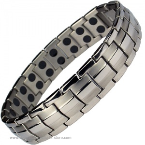 MPS® EUROPE Titanium Magnetic Therapy Bracelet