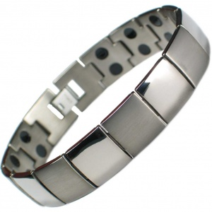 MPS® JUPITER Double Strength Titanium Magnetic Bracelet for Men