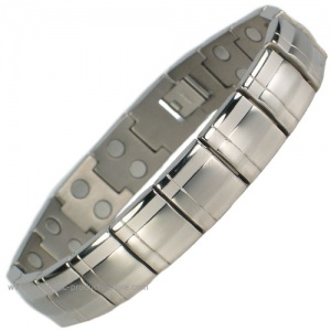 MPS™ EUROPA II Titanium Magnetic Therapy Bracelet