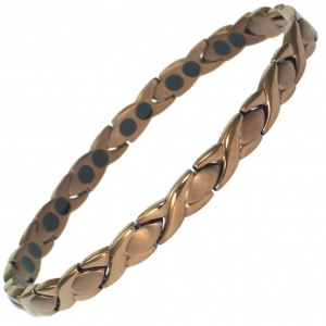 MPS™  ALIOTH Light Coffee Titanium Magnetic Bracelet for women