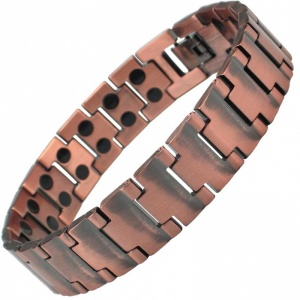 MPS® NEPTUNE Double Strength Copper Titanium Magnetic Bracelet