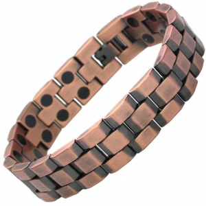 MPS® ANDAR Copper Titanium Magnetic Therapy Bracelet for Men