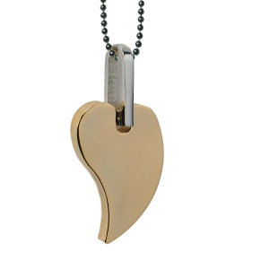 MPS HEART OF GOLD Energy Pendant