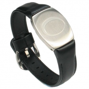 AUGUSTA BIO Golfers Magnetic Therapy Bracelet with Leather Strap