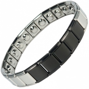 MPS® SPECIAL EDITION Expanding Stainless Steel Magnetic Bracelet 1401