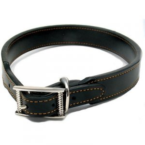 Leather Magnetic Collar for dogs