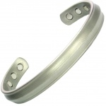 MPS ALUN Antique Silver Magnetic Bangle