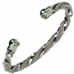 MPS™ TALI Ladies Magnetic Bracelet Twisted Bangle Style