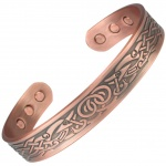 MPS COOPRAA VIDAR Pure Copper Magnetic Therapy Bangle
