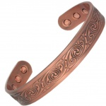 MPS COOPRAA BRAGI Pure Copper Magnetic Therapy Bangle