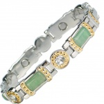 MPS® KARINN SG Jade Gemstones Magnetic Bracelet for Women