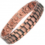 MPS® DIONYSOS Mens Copper and Zinc Magnetic Bracelet