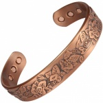 MPS COOPRAA PUSHP Pure Copper Magnetic Therapy Bangle