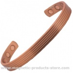 MPS Copper Lines Magnetic Therapy Bracelet / Bangle
