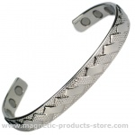 MPS WEAVED Magnetic Bangle with 6 magnets