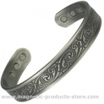 MPS ABHAY Gothic Magnetic Therapy Bangle
