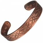 MPS INDIAN Pure Copper Magnetic Therapy Bangle
