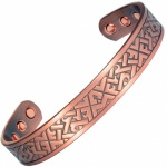 MPS® ARADAA ARI Pure Copper Magnetic Therapy Bangle