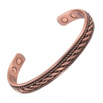 MPS® MAHIKAA ROPP Copper Magnetic Bracelet Bangle style