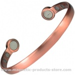MPS Mega-Strength Copper Magnetic Bracelet Cuff Style