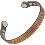 MPS SPECIAL PURCHASE Copper Matt Tone Super Strength Magnetic Bangle
