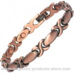 ALASYIA Classic Ladies Copper Alloy Magnetic Bracelet