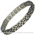 MPS® CASTLE Pewter Magnetic Bracelet