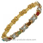 MPS™ TARIM Assorted Gemstones Magnetic Bracelet