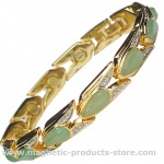 MPS™ VITIM Jade Magnetic Bracelet with Gem Stones