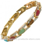 MPS™ VITIM Magnetic Bracelet with Assorted Gem Stones