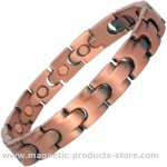 DIONEER Men's Copper Alloy Magnetic Bracelet