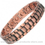 DIONYSOS Mens Copper Alloy Magnetic Bracelet