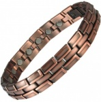 ECHNATON Copper Alloy Magnetic Bracelet for Men
