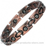 Ladies CHONS Copper Alloy Magnetic Bracelet with Acupressure Balls