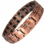 MPS� EUROPE Copper Alloy Magnetic Bracelet with Double Row Magnets
