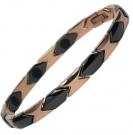MPS® SPECIAL EDITION Titanium and Ceramic Magnetic Bracelet for Women
