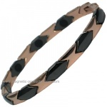 MPS™ CERAMIC & Titanium Rose Magnetic Bracelet
